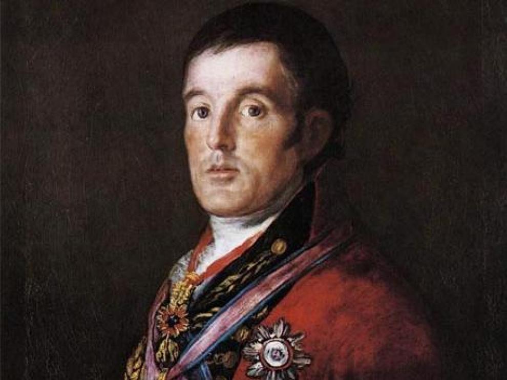 Cuadro 'El duque de Wellington', de Francisco de Goya.