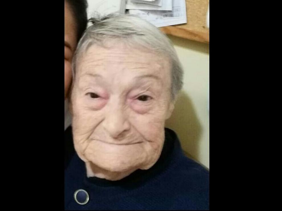 Quiteria Alcaide, de 83 años, fue vista por última vez la tarde del pasado miércoles en Valmadrid.