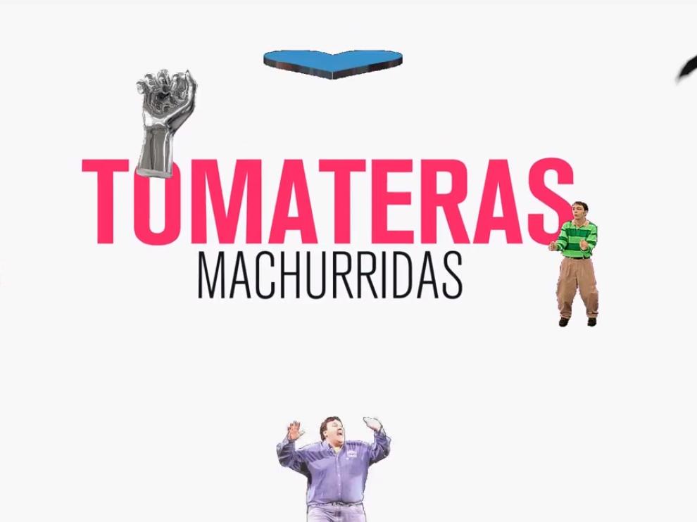 Una imagen del vídeo de la canción 'Chomeca con mí', del disco 'Jotatón'.
