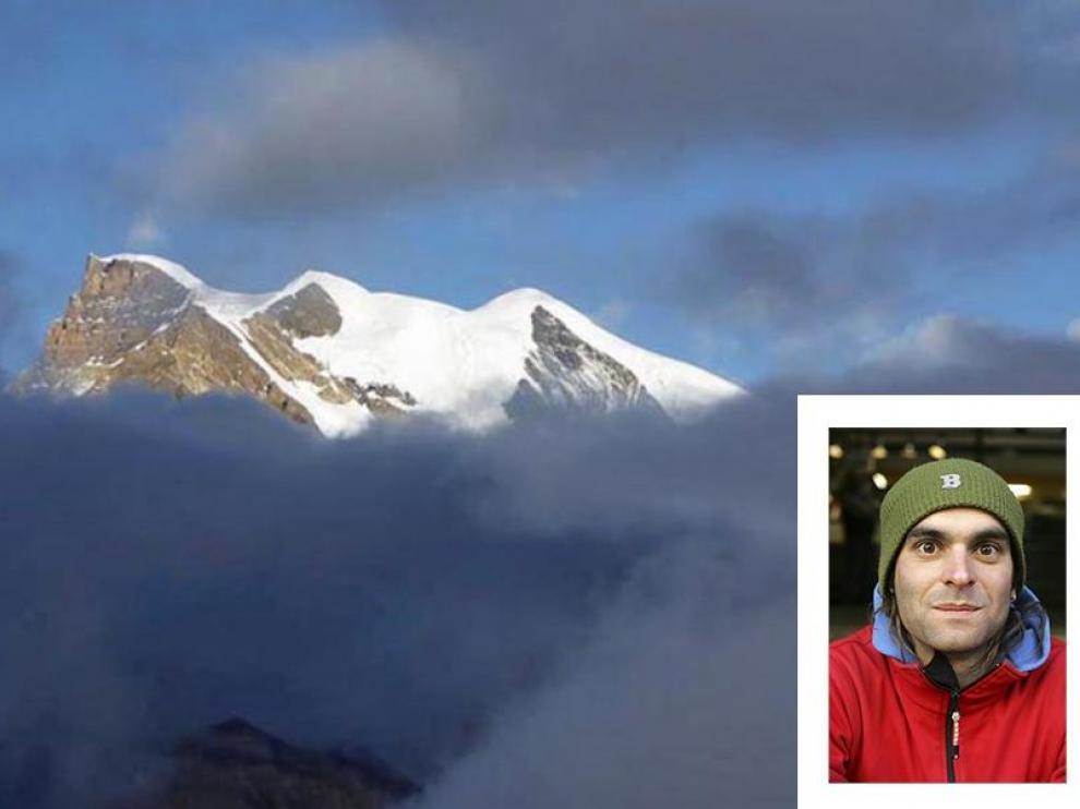 El monte Himlung en el que tuvo lugar el accidente en el que ha muerto el montañero zaragozano Fernando Sánchez Grassa