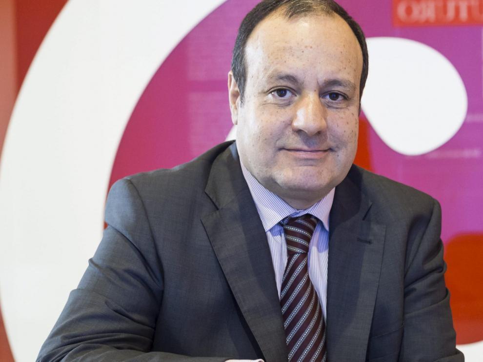El director general de Cámara de Zaragoza, José Miguel Sánchez.