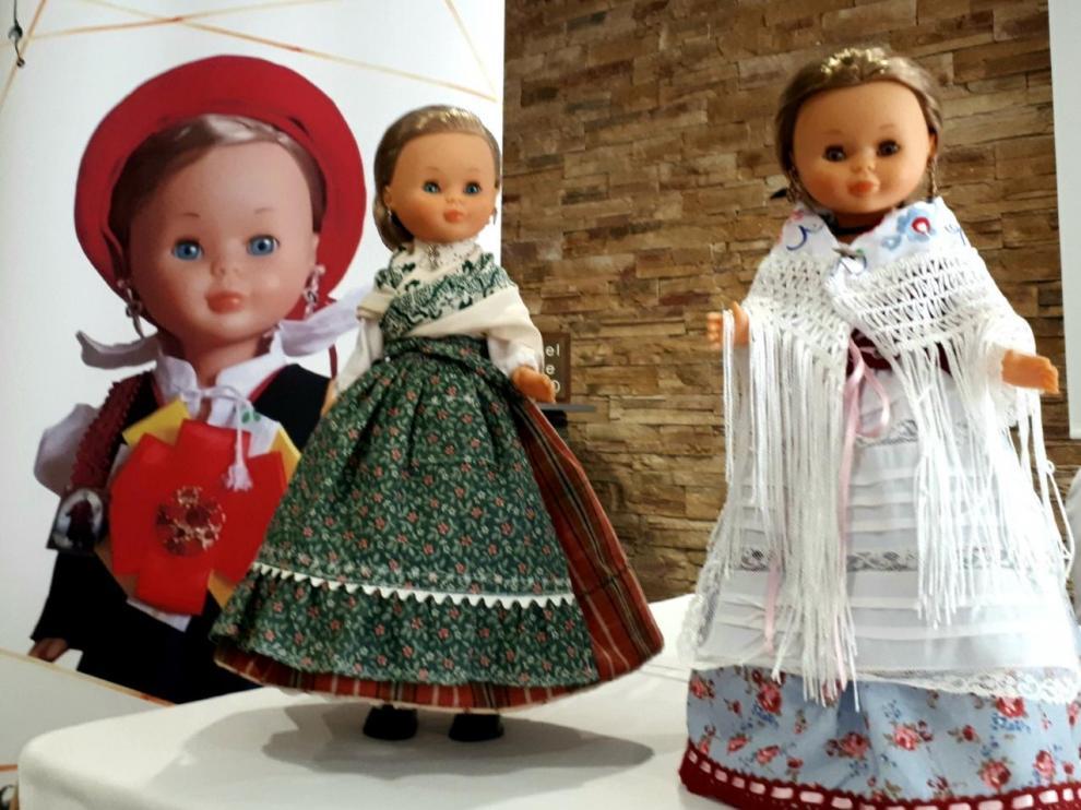 La popular muñeca Nancy recala en Barbastro en el II Encuentro de Coleccionistas