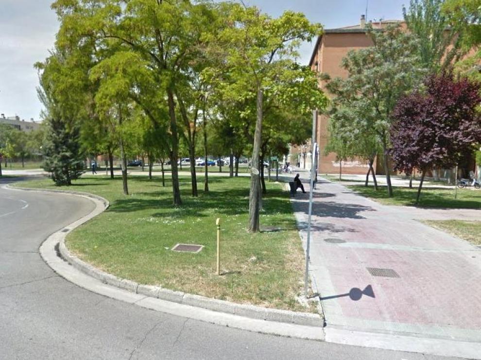El ataque se produjo el pasado 27 de octubre en el entorno de la calle de Margarita Xirgu de Zaragoza.
