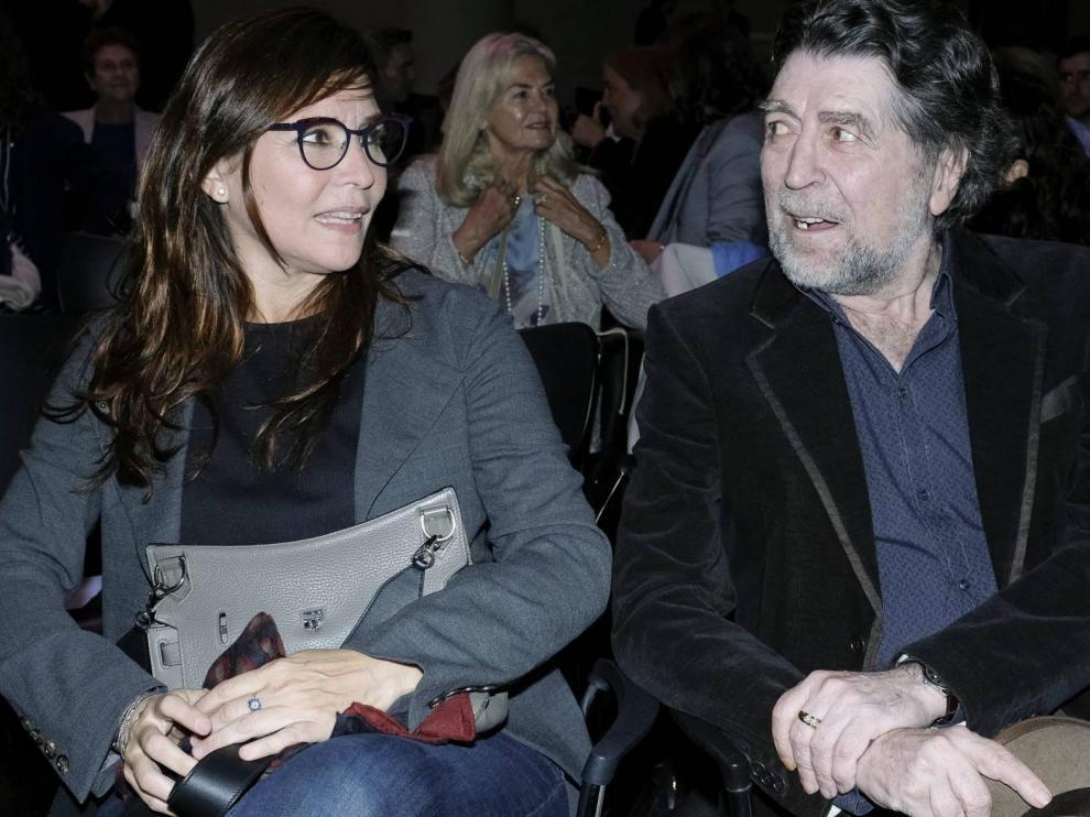 Joaquín Sabina y Jimena Coronado