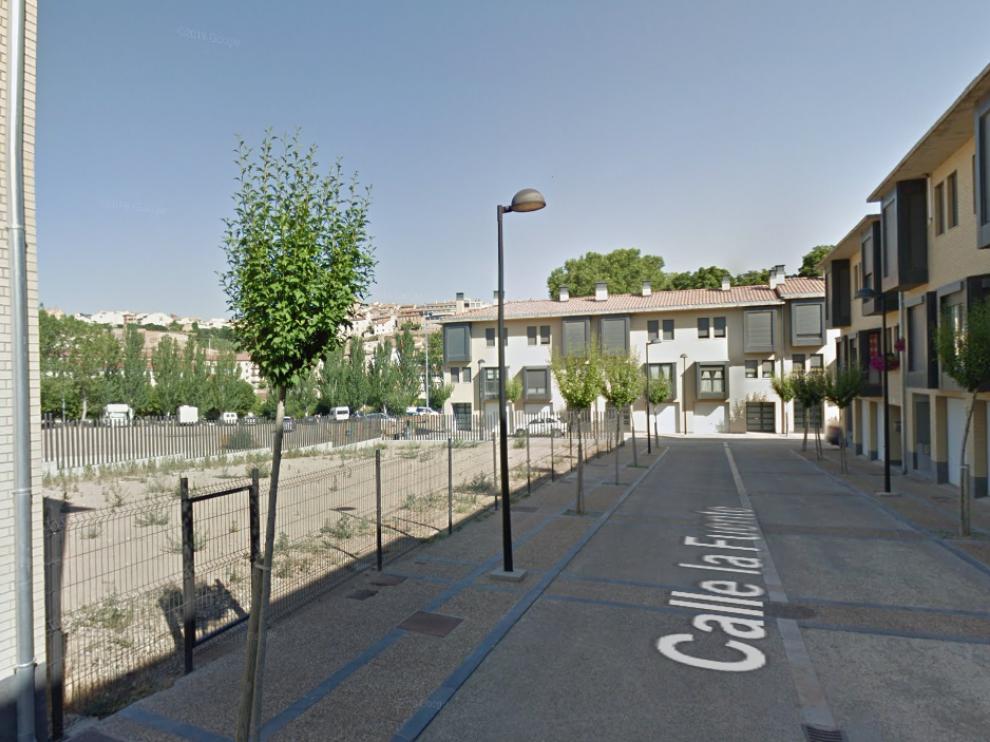 La DPZ subasta cinco solares en la calle de La Fuente de Tarazona.