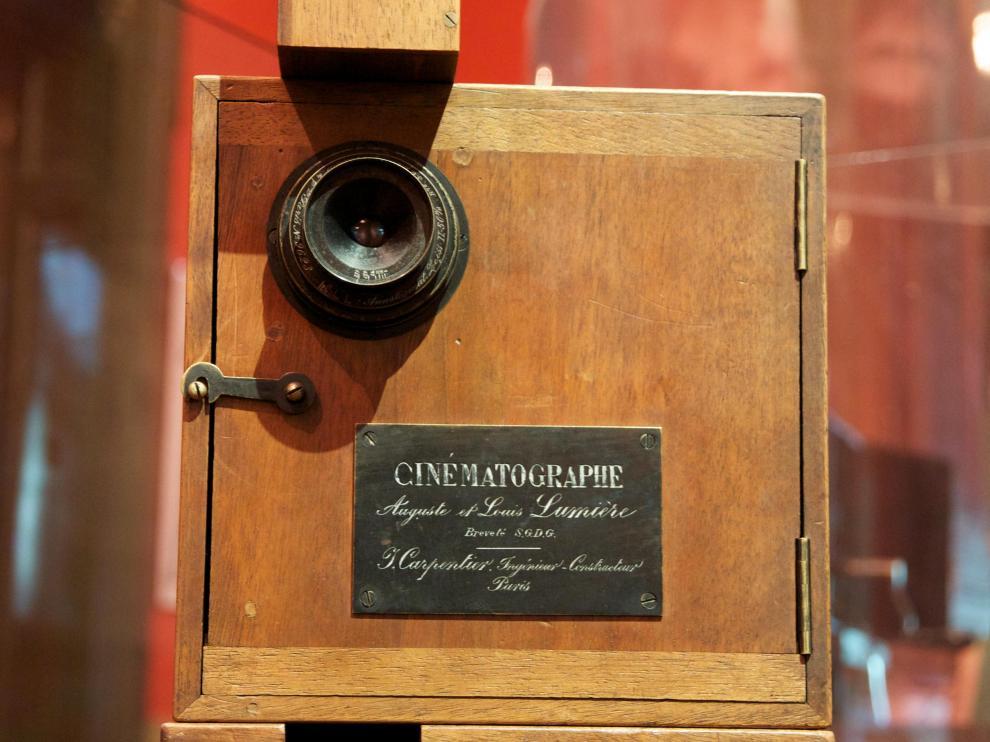 Cámara cinematográfica Lumière-Carpentier.