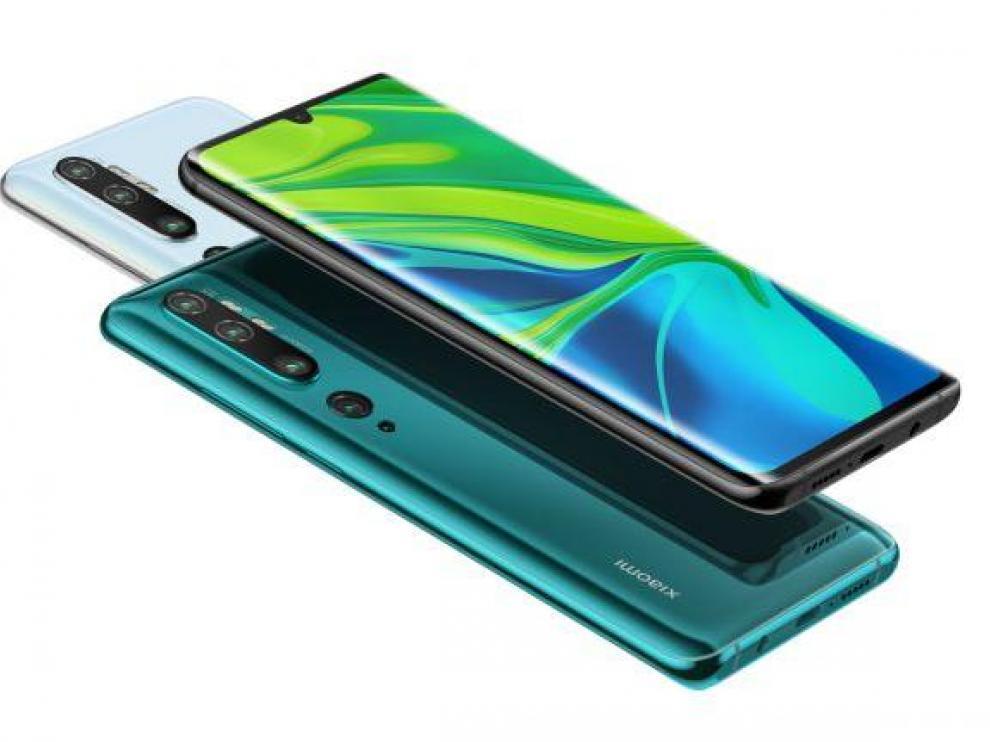 El Mi Note 10 es el primer móvil con 108 Mpx y una batería de más de 5200 mAh