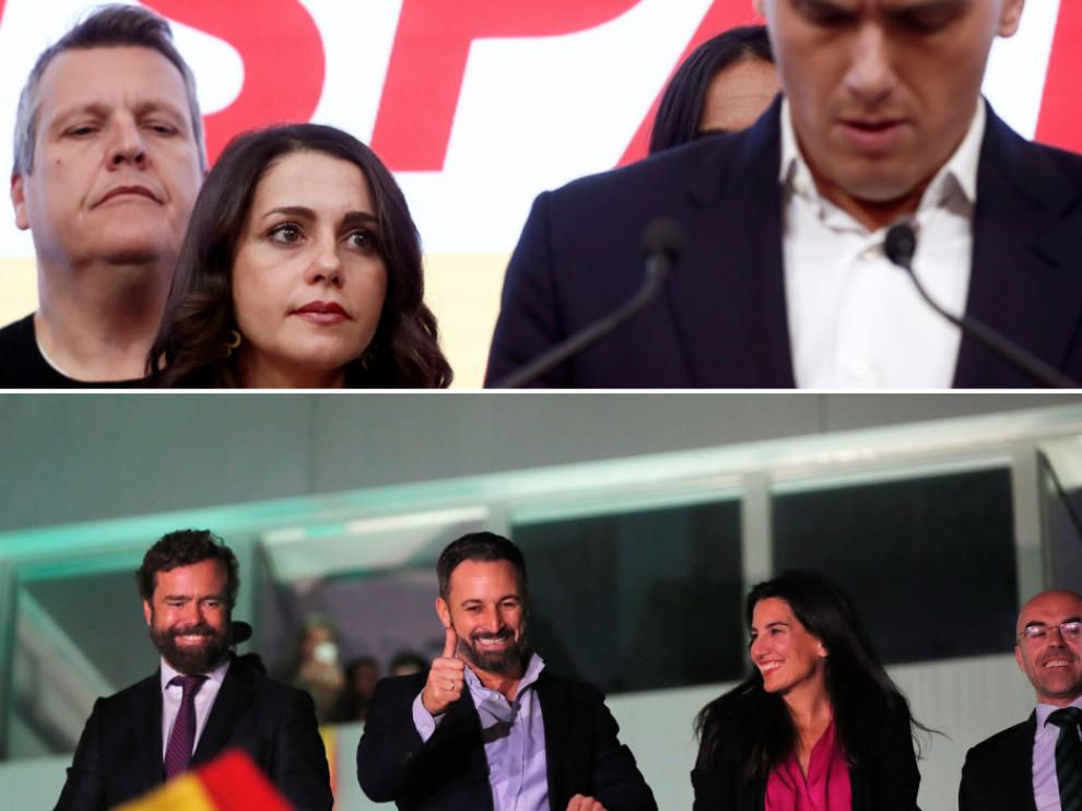 Las redes arden tras el batacazo de Ciudadanos y el triunfo de Vox en las elecciones generales