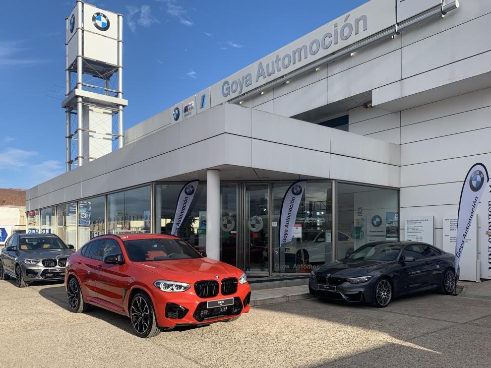 Goya Automoción expone los últimos modelos de su gama M en su 'BMW M Dream Week'.