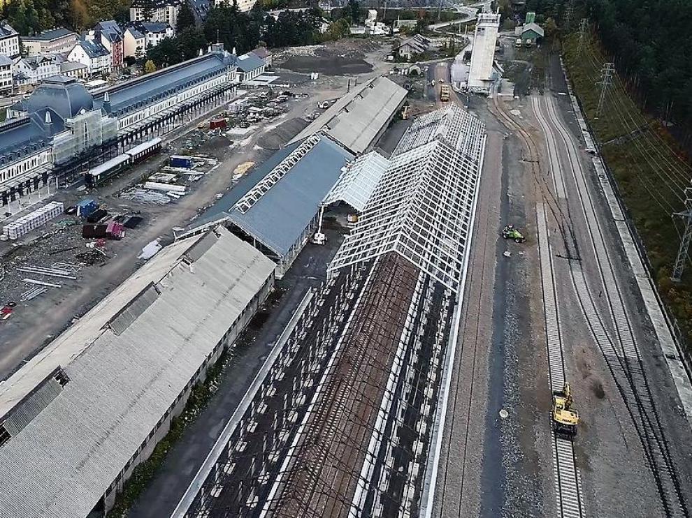 La nueva playa de vías no estará operativa hasta mayo de 2020