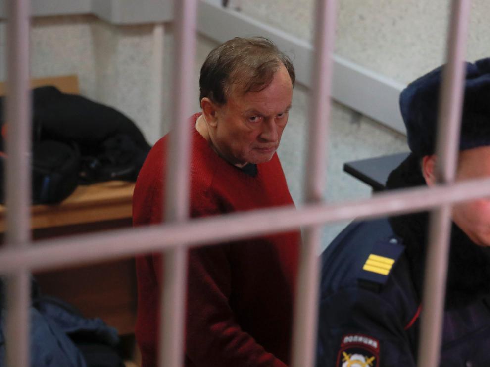 Oleg Sokolov, tras ser detenido