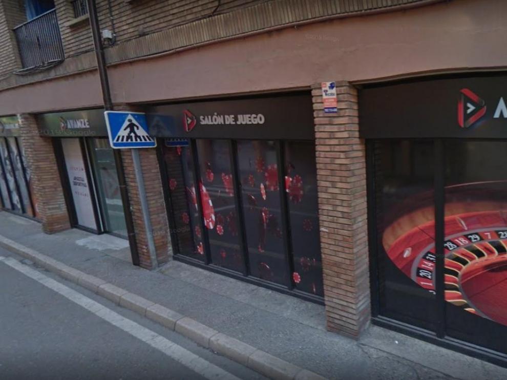 Salón de Juegos Avanze, en Tarazona.