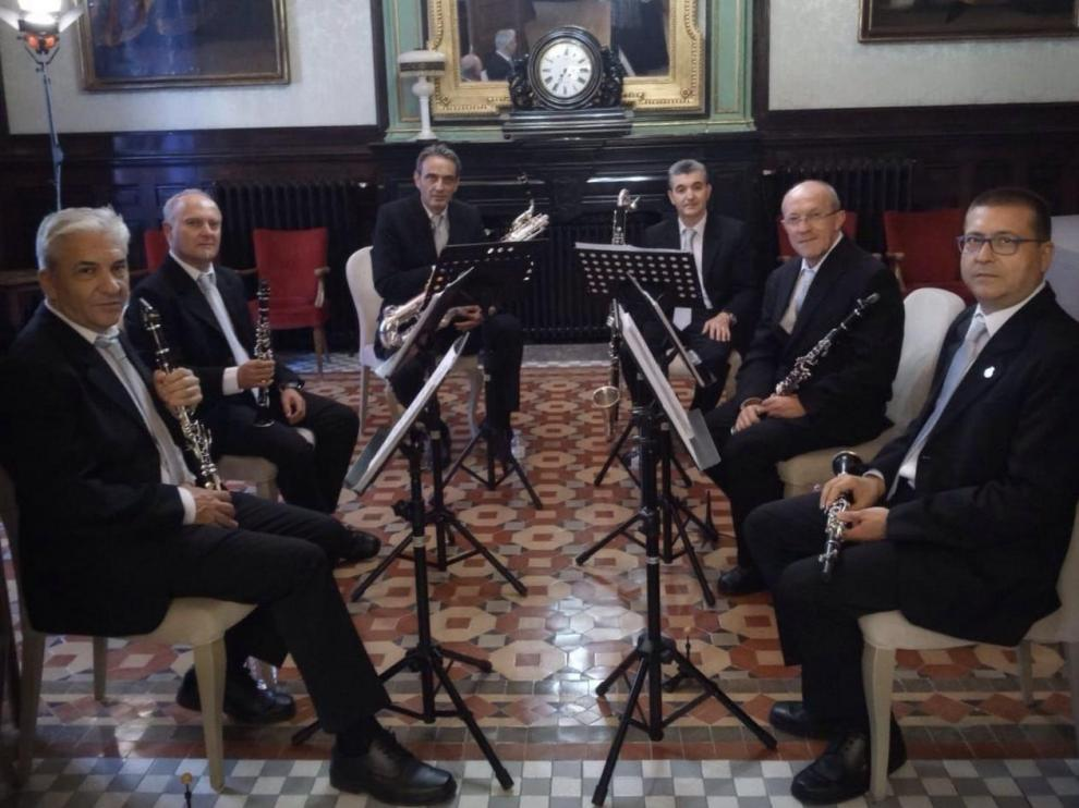El grupo instrumental de la DPZ honra a Santa Cecilia con dos conciertos