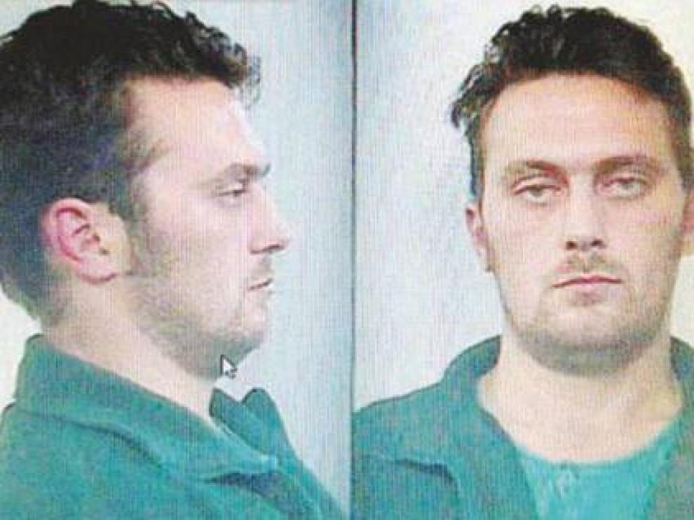 Norber Feher, Igor el Ruso, en su fotografía tras la detención por la Guardia Civil después del triple crimen en Andorra.