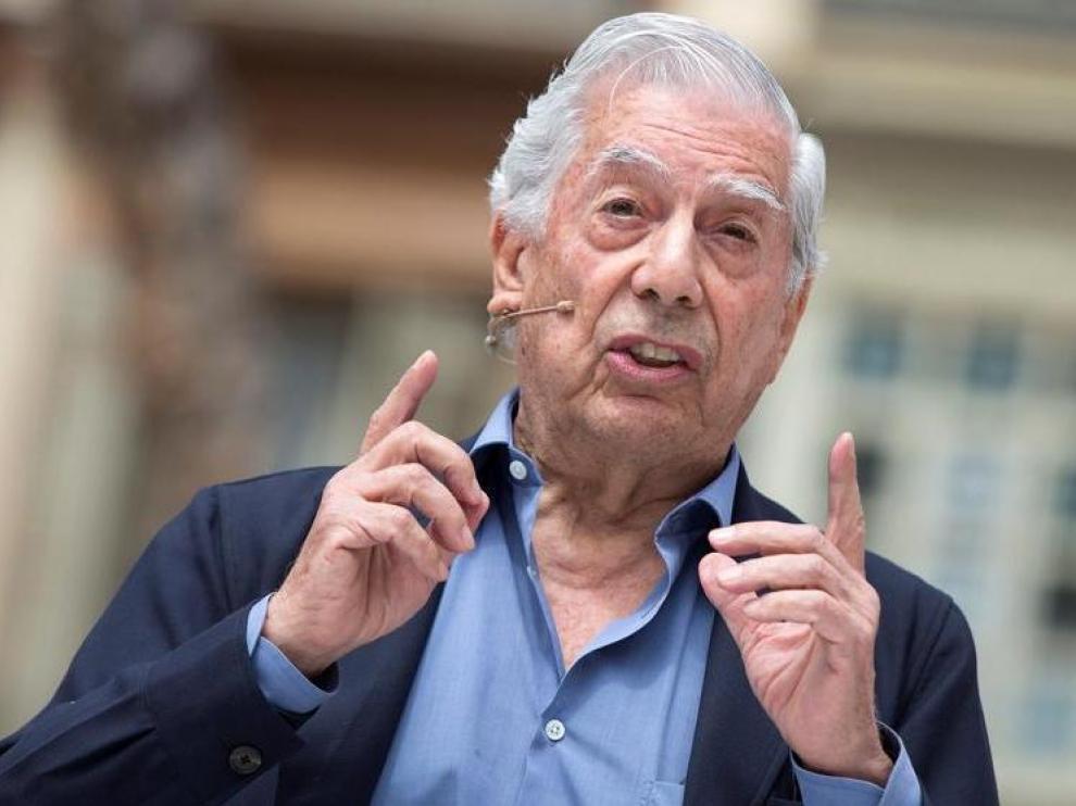 Mario Vargas Llosa, invitado esta tarde por la Universidad de Zaragoza.