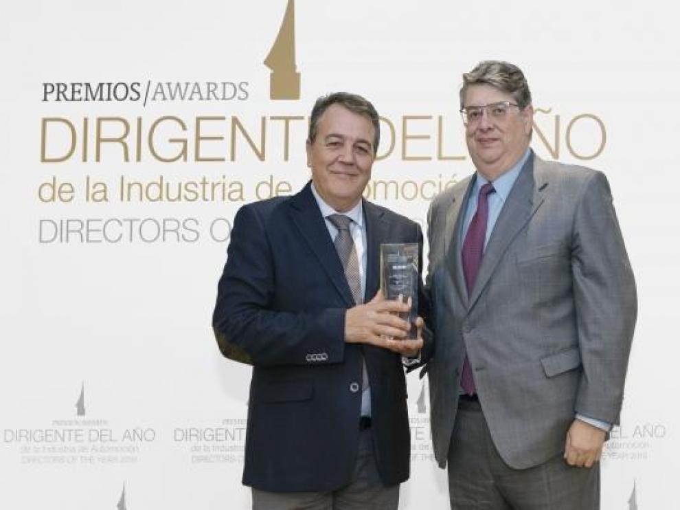 El director del clúster ibérico de PSA y de la planta zaragozana, Juan Antonio Muñoz Codina, ha sido elegido 'Dirigente del año' por Autorevista