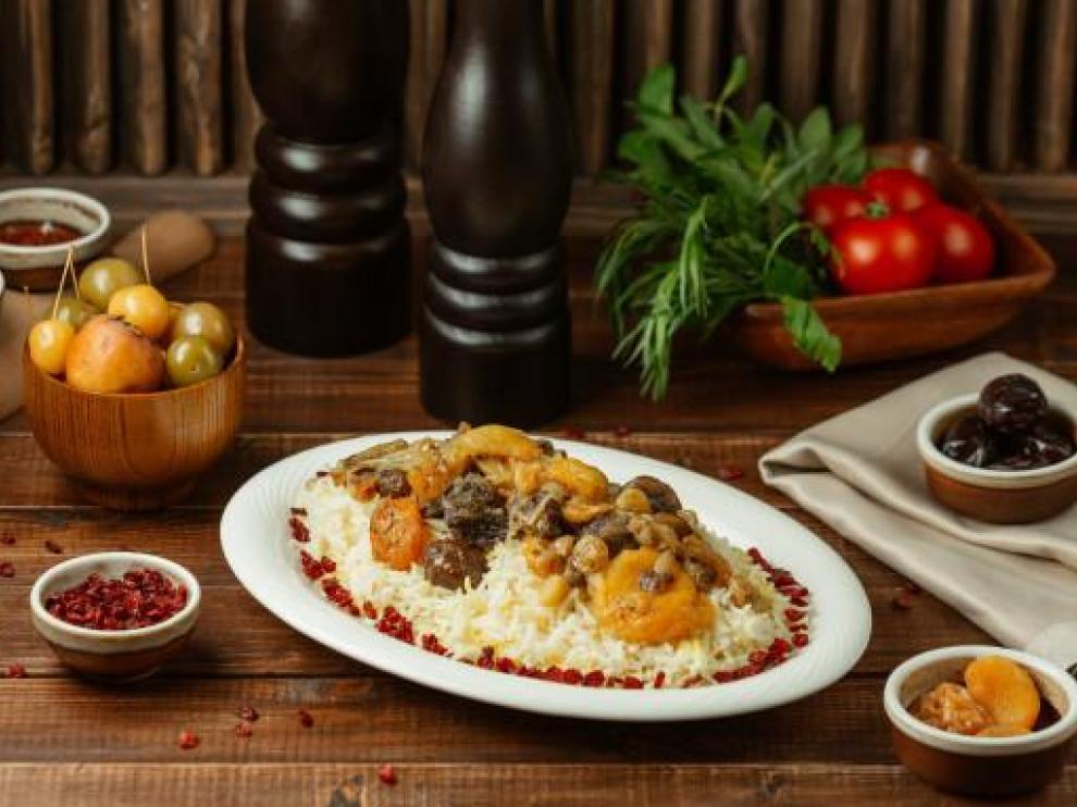 Plato arroz