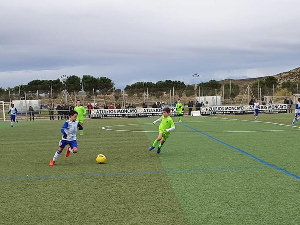 Fútbol. Alevín Preferente: Real Zaragoza vs. La Unión.