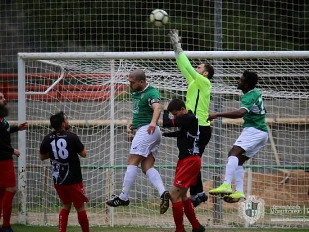 Mequinenza- Santa Anastasia. Fútbol Regional