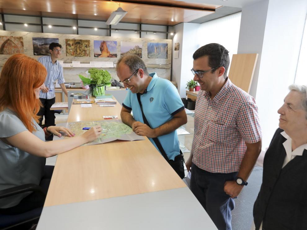 Oficina de Turismo de Huesca / 9-10-19 / Foto Rafael Gobantes [[[FOTOGRAFOS]]]
