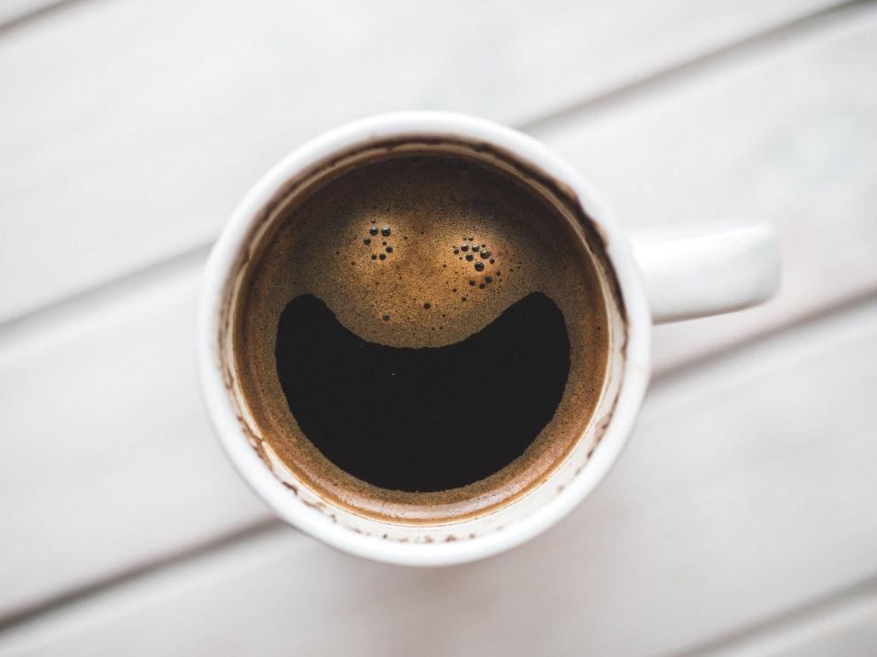 ¿Está sonriendo este café?