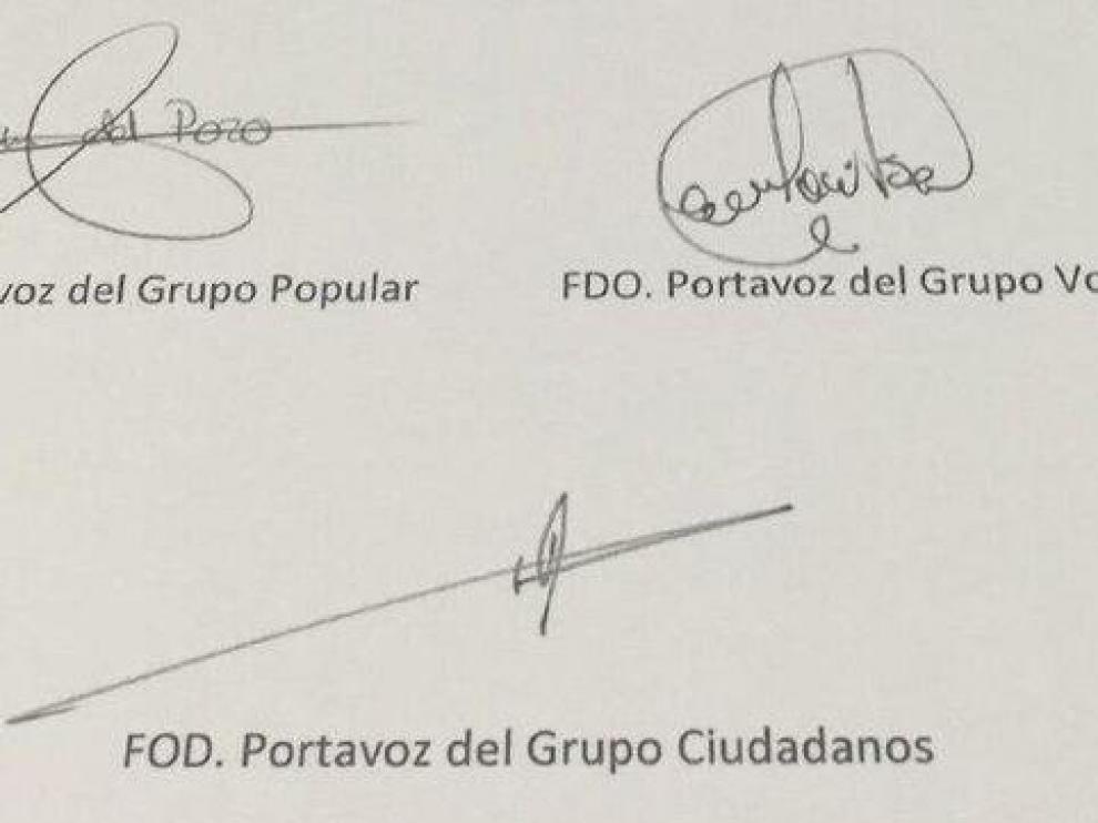 Firma en El Espinar