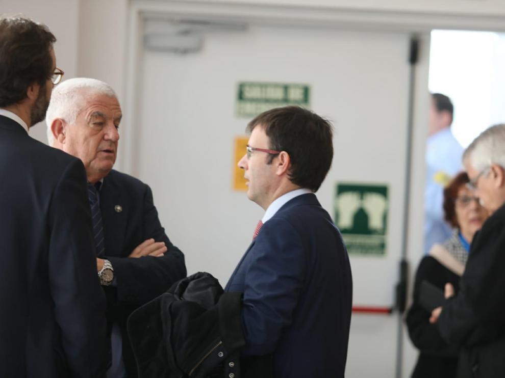 A las 9 de la mañana han comenzado a llegar al juzgado de Instrucción número 5 de Huesca los imputados por la segunda parte de la Operación Oikos, de amaño de partidos de fútbol.