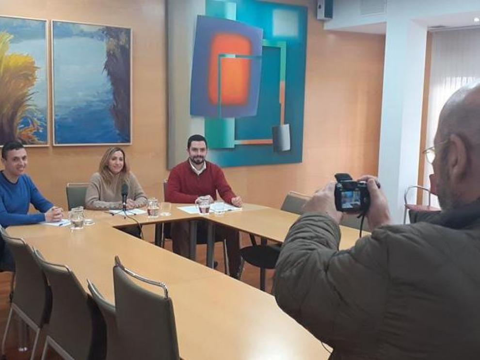 Imagen de la presentación del proyecto Fraga Activa.
