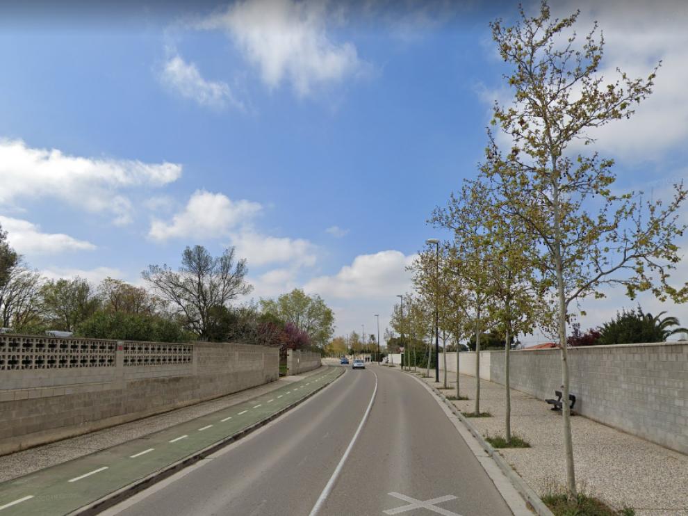 El accidente tuvo lugar en el camino de Bárboles de Garrapinillos.