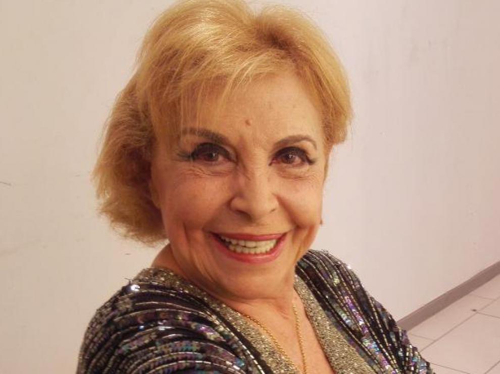 María Luisa Merlo actúa este sábado en el festival Zuera Escena