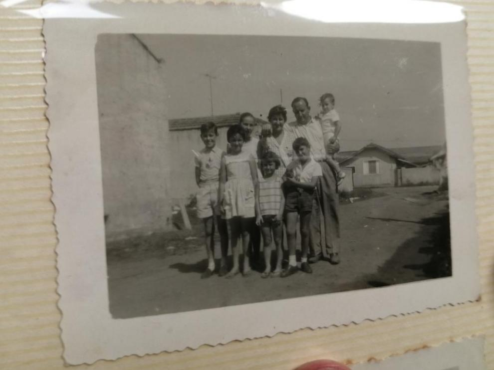 Aragoneses en Brasil en la década de los años 50.