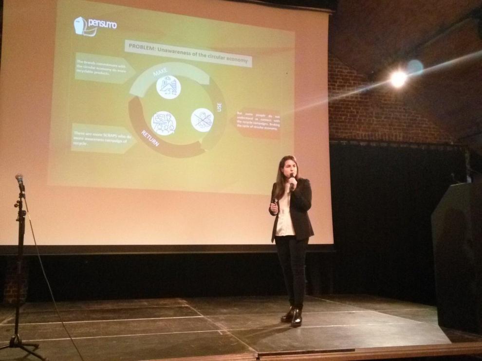 El proyecto español PENSUMO, fue seleccionado en España por CEOE Aragón y ha competido en Bruselas con 15 proyectos de 12 paises europeos.