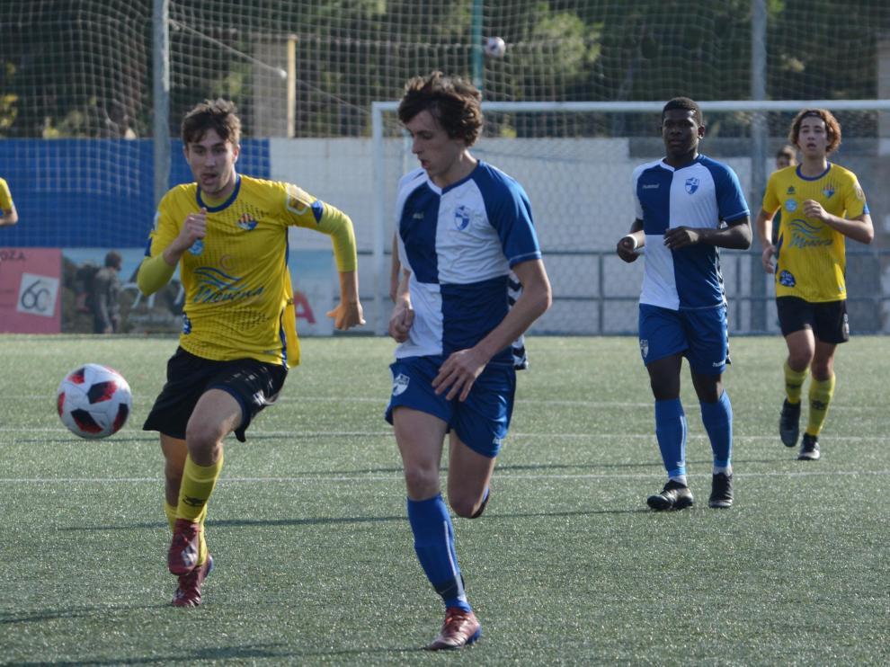 Fútbol. DH Juvenil- CD Ebro vs. Atlético Villacarlos.