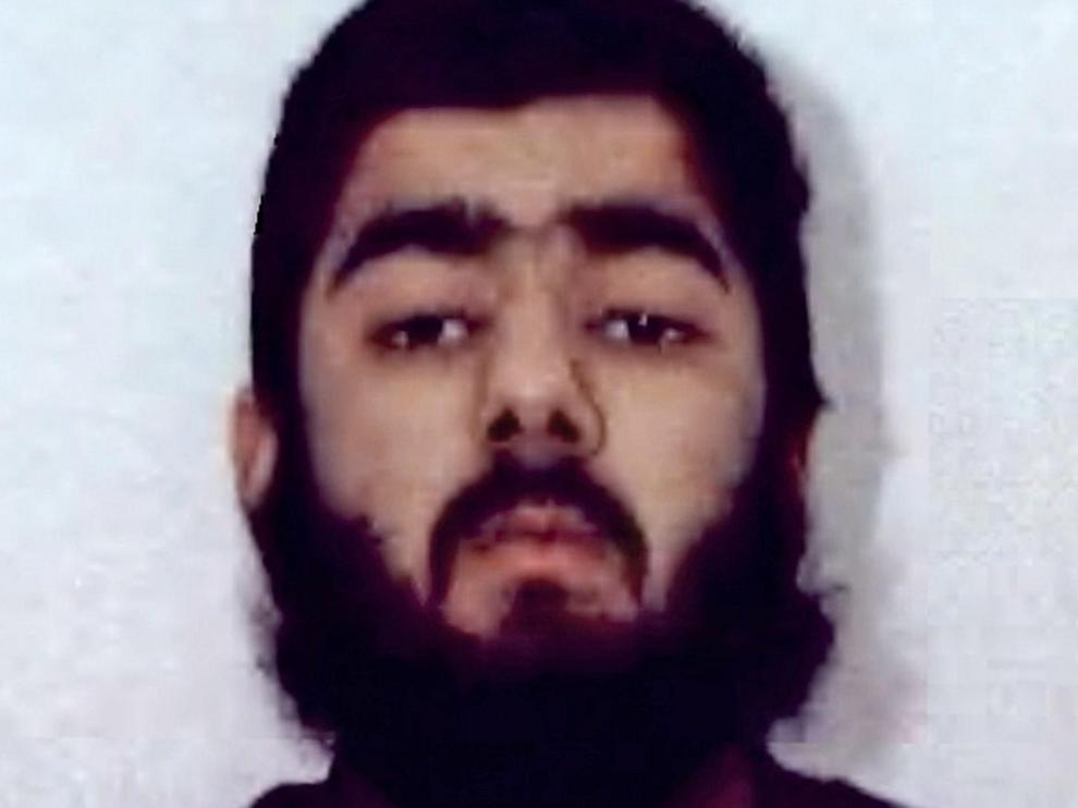 Usman Khan, autor del atentado de Londres.