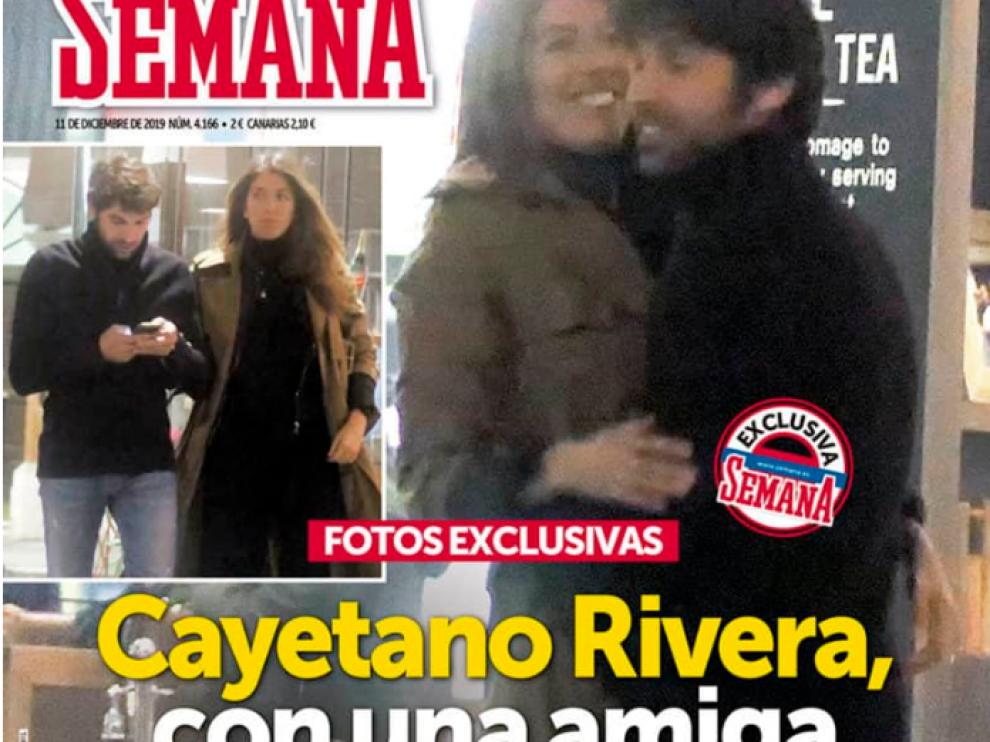 """Salen a la luz las fotografías de Cayetano Rivera """"con una amiga"""" en Londres"""