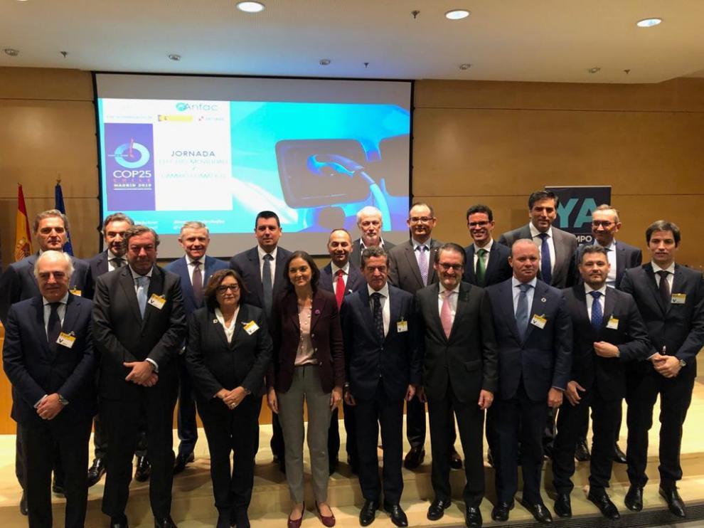 Jornada 'Electro movilidad y cambio climático', celebrada dentro de los actos de la Cumbre del Clima 2019, en la que ha participado Fundación Ibercaja