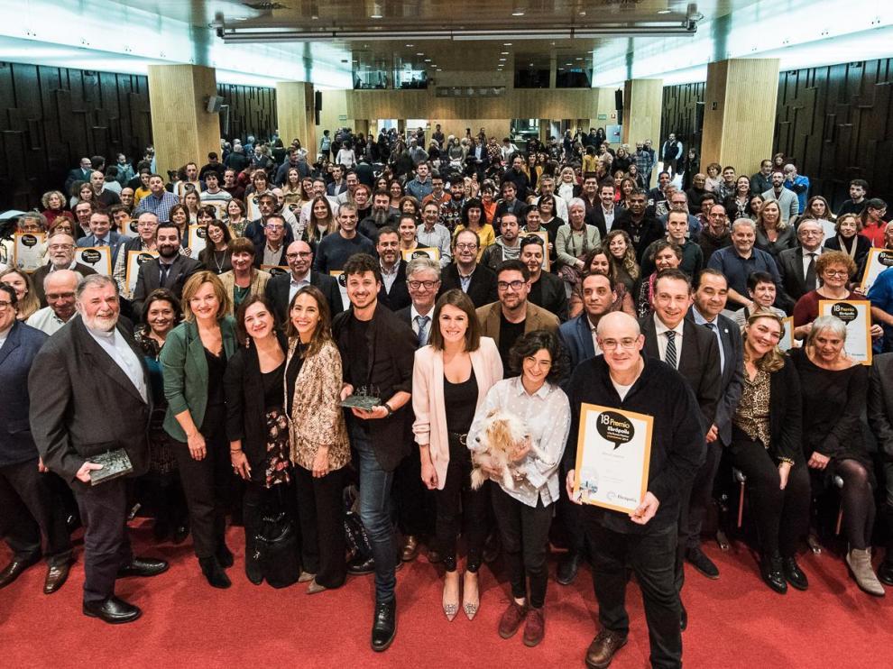 El Patio de la Infanta ha acogido acto del Premio Ebrópolis a las Buenas Prácticas Ciudadanas
