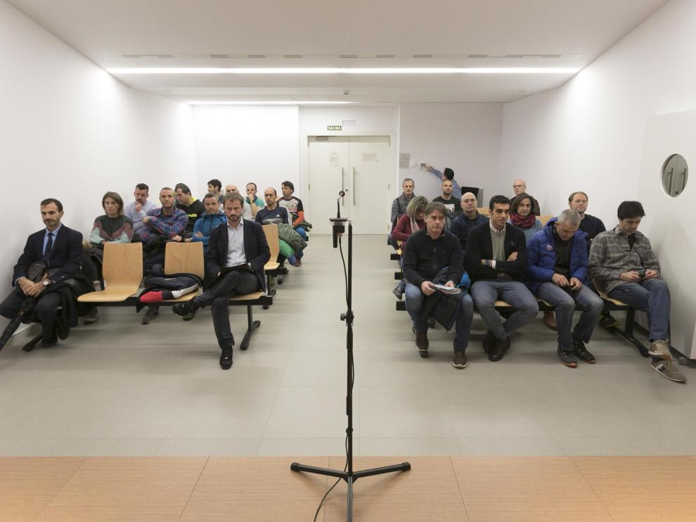 La vista se celebró hace un mes en el Juzgado de lo Contencioso-Administrativo de Huesca.