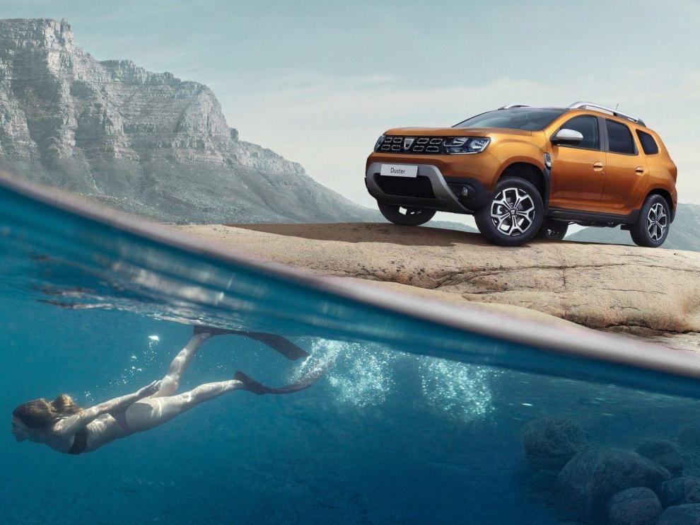 El Dacia Duster es un robusto modelo que combina aventura y confort.