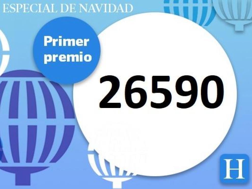 26590, el Gordo de la lotería de Navidad
