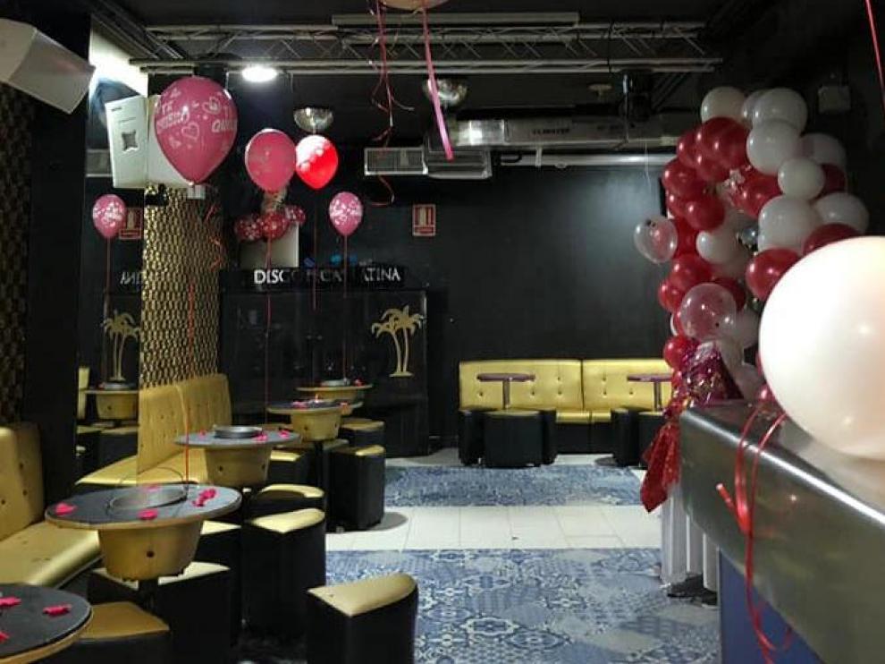 Interior de la Discoteca Dubai