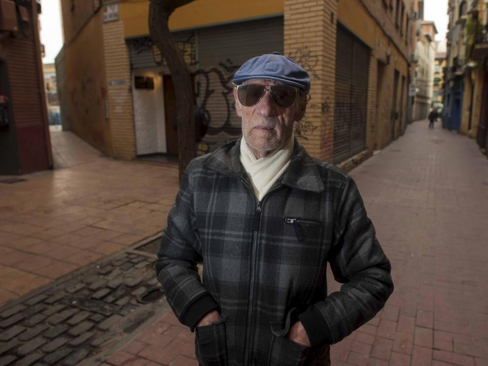 Manuel Tejuela, fotografiado en la Magdalena en 2017.