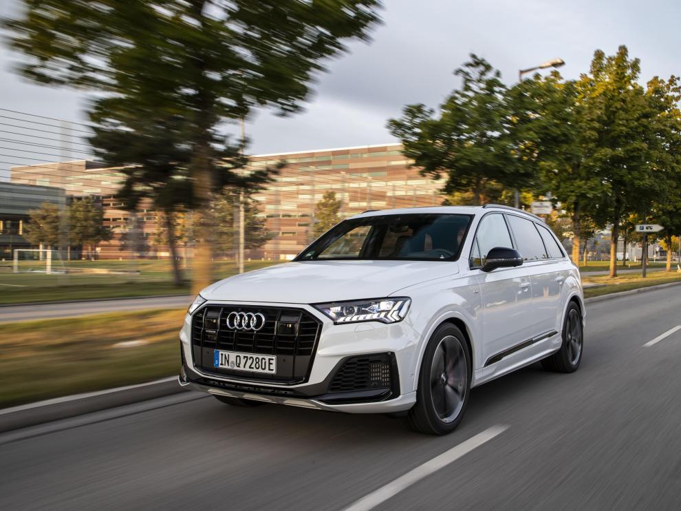 Lujo, espacio y eficiencia: así es el nuevo Audi Q7 TFSI quattro.