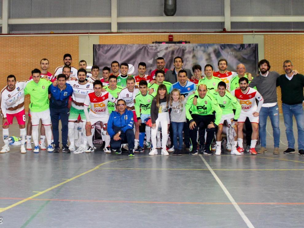 Recogida de alimentos del club Patatas Gómez Sala 2012.
