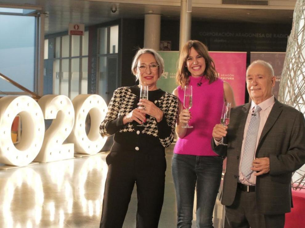 Luia Gavasa, Blanca Liso y Miguel Ángel Tirado, serán los protagonistas de la entrada a 2020 en la cadena autonómica.