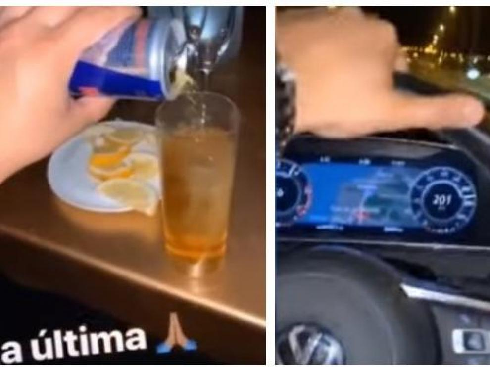 La Guardia civil da por fin con el conductor que se grabó a 202 Km/h tras tomar copas