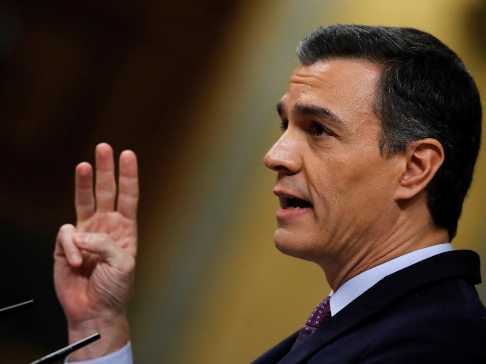 Primera jornada de la sesión de investidura de Pedro Sánchez