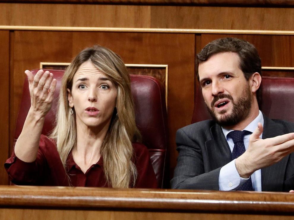Segunda jornada de la sesión de investidura de Pedro Sánchez.