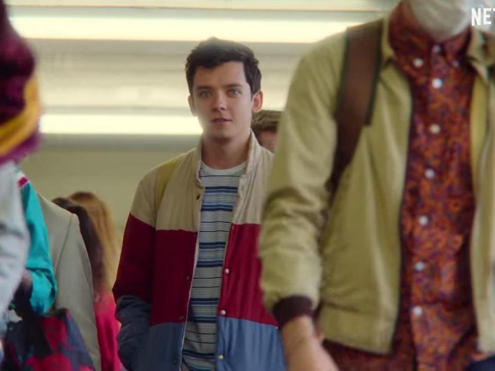 Una de las escenas que aparece en el trailer de la segunda temporada de 'Sex Education'