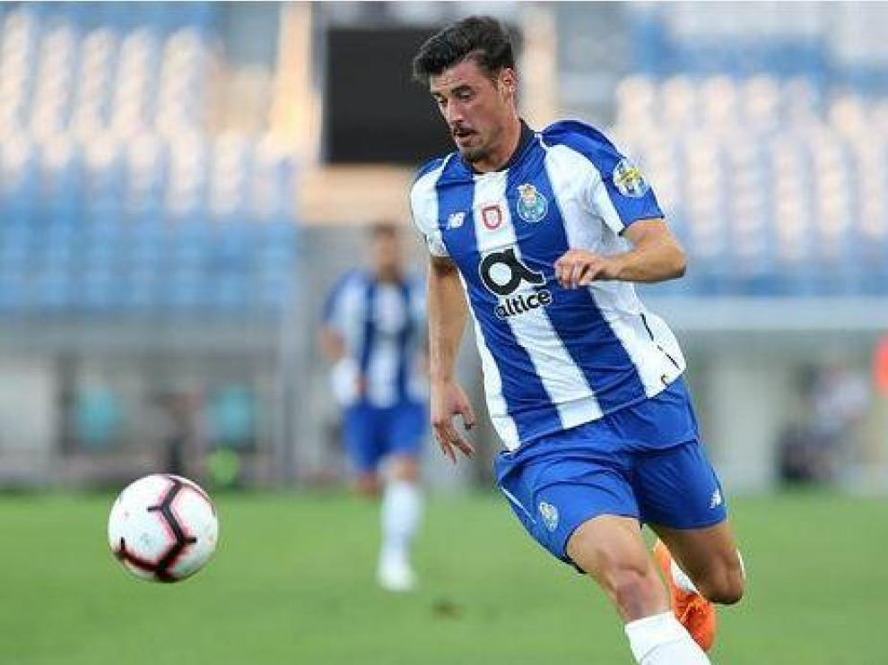 André Pereira, en un partido de Copa con el Oporto la temporada pasada.